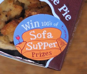 Win hundreds of Sofa Supper prizes